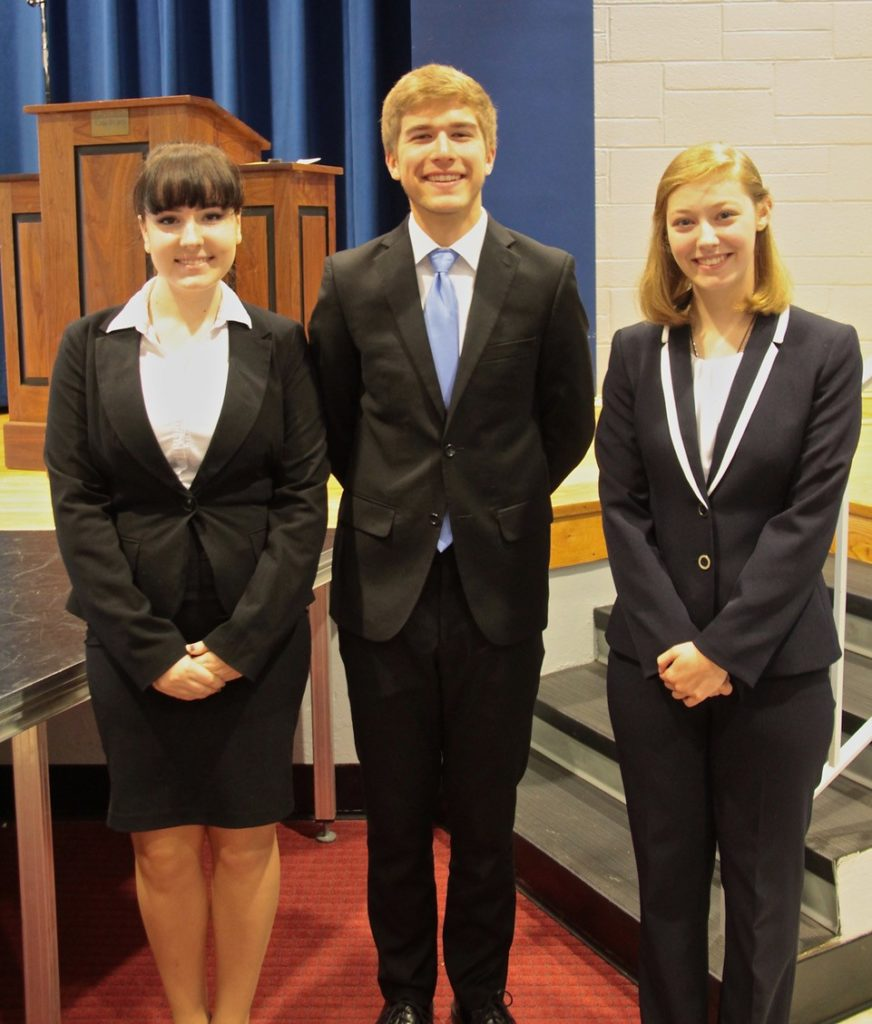 Pell Grant Winners 2017 MCEF MCHS Pell Grant Public Speaking Competition